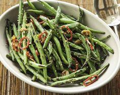 Fiery Wok-Seared Green Beans Recipe (Photo courtesy of Whole Foods Market)