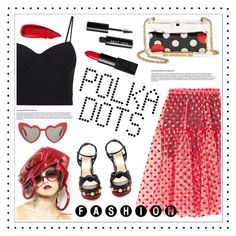 """POLKA DOTS"" by madedinorog ❤ liked on Polyvore featuring Paskal, Gucci, Yves Saint Laurent, Alexander Wang, RED Valentino, NARS Cosmetics, Bobbi Brown Cosmetics and Sisley"