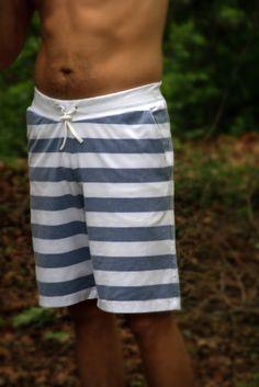 Hampton Shorts sewing pattern for men | DIY board shorts sewing pattern | Summer swimming shorts