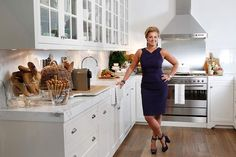 Gorgeous kitchen and home of Chyka Keebaugh