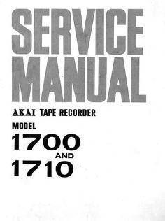 Akai GX-630-D , GX-630-DB reel tape recorder Service