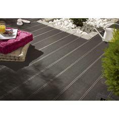 Aspect de surface:Rainurée                                                                                       Type de pose (planche):A clipser                                                                                                           Famille de couleurs:Brun / marron