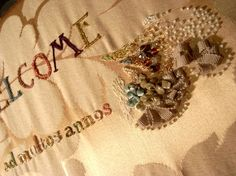 tarubitwu 679 リボンと刺繍のウェルカムボード http://tarubitwu.seesaa.net/article/269100424.html