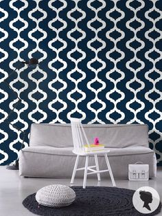 Moroccan Pattern Self Adhesive Removable Wallpaper by Livettes