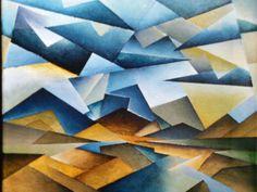 Cubist Landscape Painting