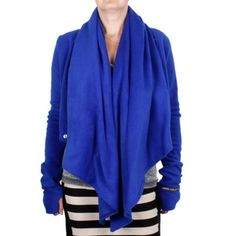 Moto Jacket Cobalt now featured on Fab.