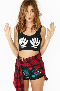 Lazy Oaf Touch Bra Top