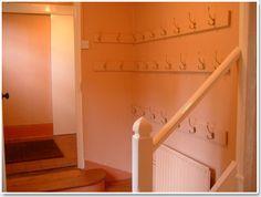 hallway storage-different heights