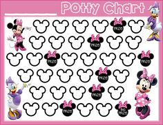 Free Printable Potty Chart for Boys Best Of Potty Training Free Printable Minnie Mouse Daisy Duck Free - Chart Designs Template Free Printable Potty Chart for Boys Sticker Chart Printable, Potty Training Sticker Chart, Potty Training Rewards, Potty Training Girls, Training Tips, Training Quotes, Potty Training Charts, Training Meme, Toilet Training