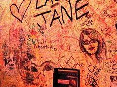 Huey's Midtown graffiti wall via Dyland Durmeier