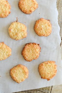 Scandinavian Coconut Cookies with Sea Salt (Gluten free)
