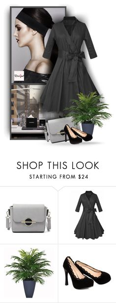 """""""Rosegal 44"""" by christiana40 ❤ liked on Polyvore featuring vintage"""