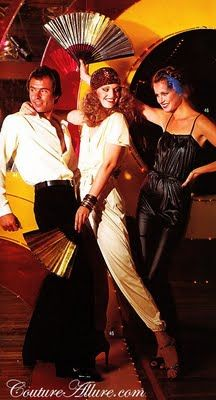 Couture Allure Vintage Fashion: Disco Fever Fashion - 1978
