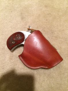 Bond Arms Derringer Leather Cross Draw by BigTexasLeatherWorks