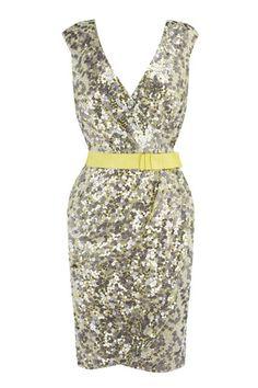 Coast sequinned dress.