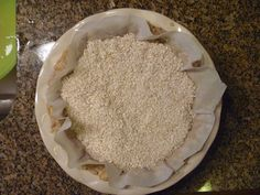 Rice is an easy, non-wasteful way to weigh down pie crust for pre-baking. Most people don't have actual pie weights around, and using beans is annoying because they get funny-smelling after baking, and you probably won't want to eat them. With rice, you can just make pilaf the next day. |  Thanksgiving Cooking Hacks