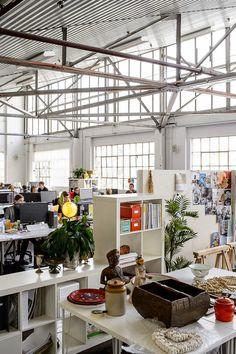 Espacio oficina diseñado por gente creativa