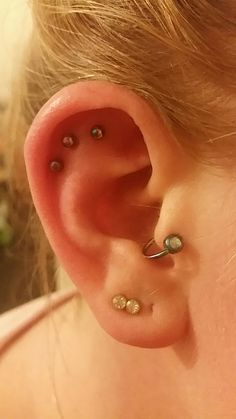 Hi everyone. So I thought I would add a few pics of my newly done triple helix. Maybe to share my experience with some of you who are interested in it. And also to keep track of the healing process. I have had many piercings and have all had their ups and downs but have all turned out well. So thought I would keep track and maybe it could help some people be reassured if your having complications to know what others are going through aswell. I got it done today 23.6.2017