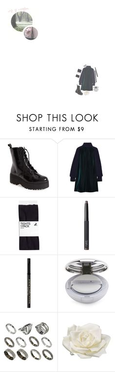 """""""Forest Scenes In """"꿈"""" M/V: Yeonin"""" by real4u ❤ liked on Polyvore featuring Jeffrey Campbell, Sacai, H&M, NARS Cosmetics, Too Faced Cosmetics, ASOS and Allstate Floral"""
