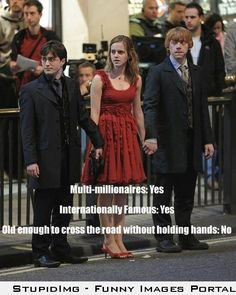 I love Harry Potter Old enough to cross road without holding hands? Harry PotterOld enough to cross road without holding hands? Mundo Harry Potter, Harry Potter Cast, Harry Potter Quotes, Harry Potter Love, Harry Potter Fandom, Harry Potter World, Harry Potter Children, Harry Potter Friendship, Harry Potter Pictures
