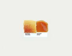 Pantone Pairings - Pancakes & Syrup