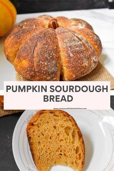 Pumpkin Sourdough Bread made with pumpkin puree and no sugar added. Sourdough Starter Discard Recipe, Sourdough Recipes, Sourdough Artisan Bread Recipe, Pumpkin Bread, Pumpkin Puree, Pumpkin Yeast Bread Recipe, Pumpkin Pumpkin, Healthy Pumpkin, Pumpkin Cookies