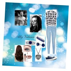 """""""Ally #2"""" by melaniecade on Polyvore featuring 7 For All Mankind, Converse, Bling Jewelry, BERRICLE, women's clothing, women's fashion, women, female, woman and misses"""