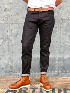 Red Wing Moc Toe, Denim Fashion, Male Fashion, Red Wing Boots, Hair And Beard Styles, Nashville, Vintage Outfits, Boot Outfits, Menswear