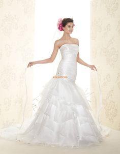 Klasszikus és időtálló Ősz  Ujjatlan Menyasszonyi ruhák 2015