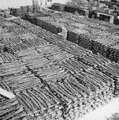 Estimated 30000 (Karabiner 98 Kurz) rifles inside the storeroom at Sola Aerodrome Stavanger seized by the Allies from German forces in Norway after their surrender. Les Satellites, Ww2 Pictures, History Online, War Photography, Panzer, Luftwaffe, Military History, Historical Photos, World War Ii