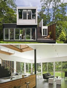 modern small house - Google Search