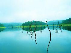 Thekkady Lake, Periyar, India