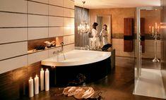 Ванны и поддоны Villeroy&Boch: Squaro Bath Tube, Bathroom Interior, Bathroom Furniture, Corner Bathtub, Home Organization, My Dream Home, Showroom, Wordpress, Living Room