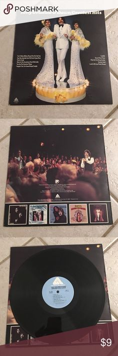Tony Orlando & Dawn Vinyl Record Greatest Hits. Sleeve is in great condition. Little to no wear. No tearing. Record has little to no scratches. Plays and sounds good. No skips. Other