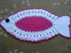 T Crochet Fish, Crochet Owls, Crochet Potholders, Crochet Doilies, Crochet Flowers, Crochet Stitches, Free Crochet, Giraffe Toy, Giraffe Pattern