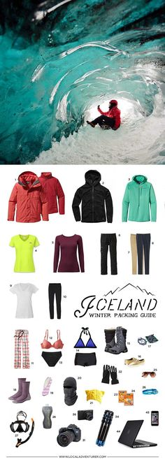 What to Pack for Iceland in Winter - 10 Days in a Carry-on // http://localadventurer.com
