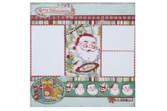 #Scrapbook layout made with My Mind's Eye Christmas Collections   Mid Week Mojo Citrine #4