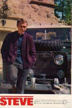 Steve at the castle with his land rover ☑  Sam Page ☺