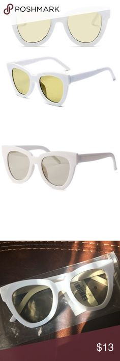 838e1484089a White sunglasses Dope Sunnies 🕶 💙 Accessories Glasses White Sunglasses