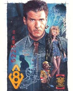 Blade Runner by Mark Raats #BladeRunner #harrisonford