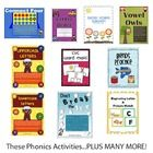 This Phonics Activities Pack comes with 50 different Phonics Activity Centers created by Have Fun Teaching. Each Phonics Activity comes with a Cove...
