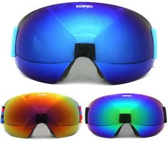 493eb9e46235 SOARED Men Women UV 400 Anti-fog Ski Goggles Snow Skiing Snowboard  Skateboard Motocross Goggles