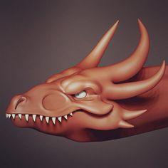 Dragon WIP. Alex Liki