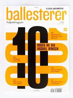 Ballesterer 100 by LWZ & Manuel Radde