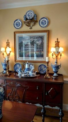 Marvelous French Country Dining Room Decor Ideas - Page 13 of 78 - Kitchen Decoration Ideas French Country Dining Room, French Country House, Classic Dining Room, Country Living, Country Style, French Decor, French Country Decorating, Decoration Inspiration, Decor Ideas