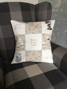 Excited to share the latest addition to my shop: Personalised cushion