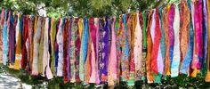 Gypsy Fringe All Sari Exotic Flag Garland