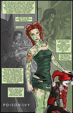 Fan fiction in Nolan trilogy. Poison Ivy:)