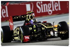 Renault Lotus - Vitaly Petrov