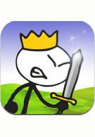 Stick Wars - lots of fun for kids and grown ups alike https://itunes.apple.com/us/app/stickwars/id309527804?mt=8